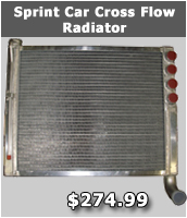 Sprint Car radiator