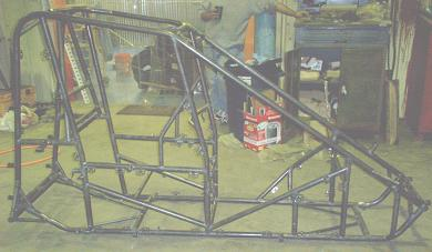 Video midget car chassis not