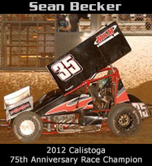 Sean Becker XXX Sprint Car Chassis
