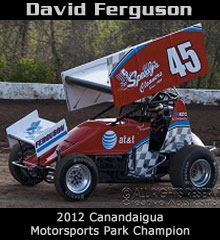David Ferguson XXX Sprint Car Chassis