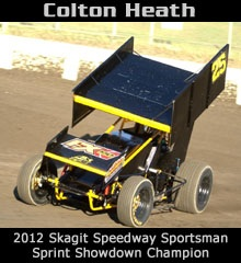 Colton Heath XXX Sprint Car Chassis