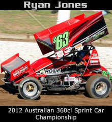 Ryan Jones XXX Sprint Car Chassis