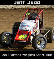 Jeff Judd XXX Sprint Car Chassis
