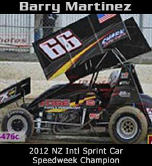 Barry Martinez XXX Sprint Car Chassis