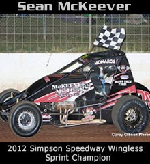 Sean McKeever XXX Sprint Car Chassis