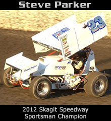 Steven Parker XXX Sprint Car Chassis