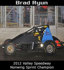 Brad Ryun XXX Sprint Car Chassis