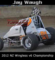 Jay Waugh XXX Sprint Car Chassis