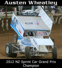 Austen Wheatley XXX Sprint Car Chassis