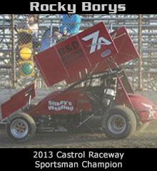 Rocky Borys XXX Sprint Car Chassis