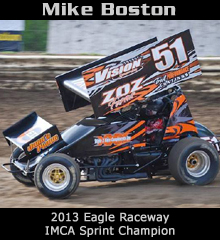 Mike Boston XXX Sprint Car Chassis