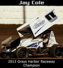 Jay Cole XXX Sprint Car Chassis