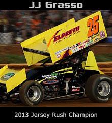 JJ Grasso XXX Sprint Car Chassis