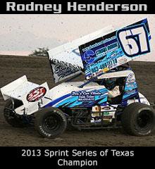 Rodney Henderson XXX Sprint Car Chassis