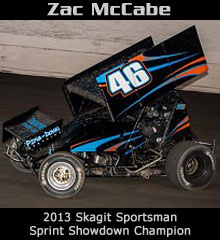 Zac McCabe XXX Sprint Car Chassis