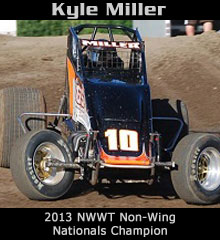 Kyle Miller XXX Sprint Car Chassis