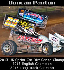 Duncan Panton XXX Sprint Car Chassis