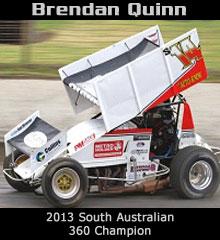 Brendan Quinn XXX Sprint Car Chassis