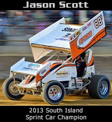 Jason Scott XXX Sprint Car Chassis