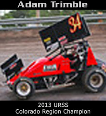 Adam Trimble XXX Sprint Car Chassis