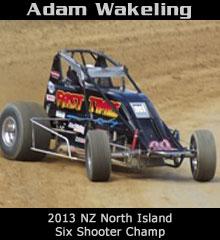 Adam Wakeling XXX Sprint Car Chassis