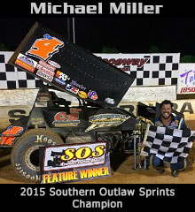 Michael Miller XXX Sprint Car Chassis