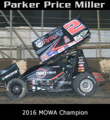 Parker Price Miller XXX Sprint Car Chassis