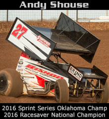 Andy Shouse XXX Sprint Car Chassis