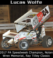 Lucas Wolfe XXX Sprint Car Chassis