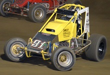 Aaaron Middaugh XXX sprint car Chassis