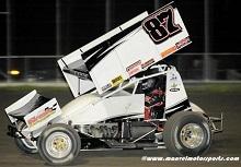 Aaron Reutzel xxx sprint Car Chassis