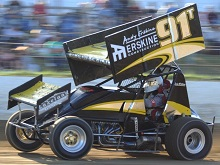 Andy Erskine XXX sprint car Chassis