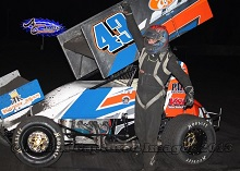 Bradley Terrell Sprint Car Chassis