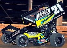 Brian Montieth XXX sprint car Chassis