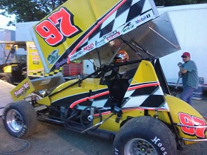 Broc Martin Sprint Car Chassis