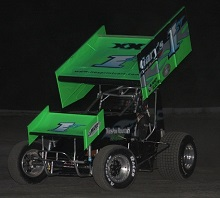 Chris Donnelly xxx sprint Car Chassis