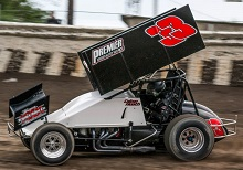 Colton Heath sprint car Chassis