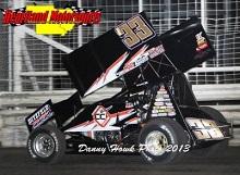 Danny Lasoski xxx sprint car Chassis