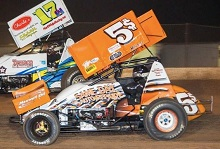 Danny Smith xxx sprint car Chassis