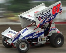Danny Varin XXX sprint car Chassis