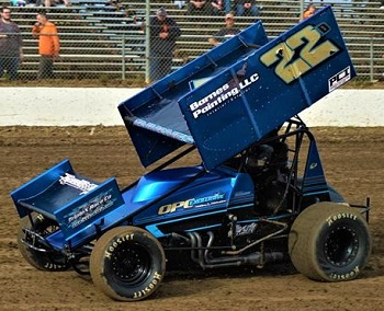 Devin Barnes Sprint Car Chassis