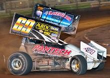 Duncan Panton sprint car Chassis