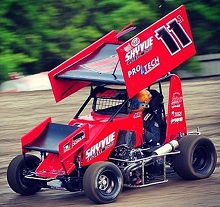 Joey Starnes 600 mini Sprint Chassis