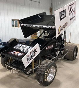 Kyle Peterson Sprint Car Chassis