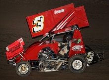 Kyle Spry XXX 600 mini sprint chassis