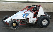 Luke Hall Wingless Sprint Car