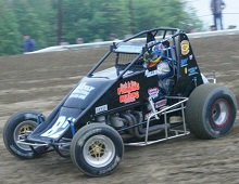Mike Miller Sprint Car Chassis