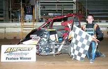 PJ Williams xxx 600 mini sprint Chassis