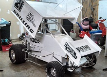 Randy Shilling xxx 600 mini sprint Chassis