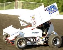 Steve Parker XXX sprint car Chassis
